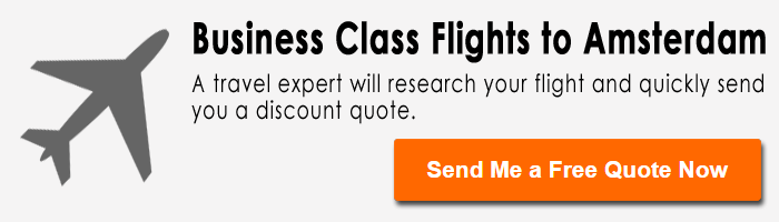 Discount business class flights to Amsterdam
