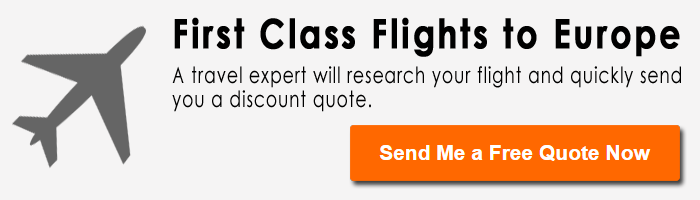 Cheapest First Class Flights to Europe