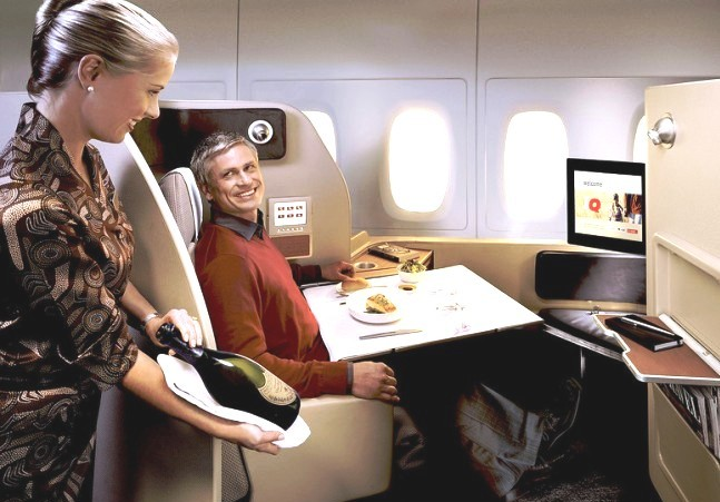 What It's Like to Fly Business Class