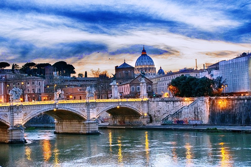 Business Class Flights To Rome
