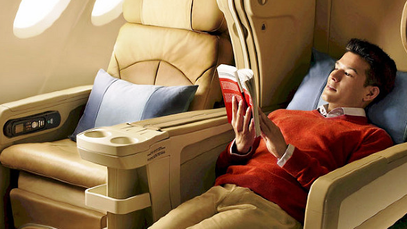 What's It Like Flying Business Class For The First Time?